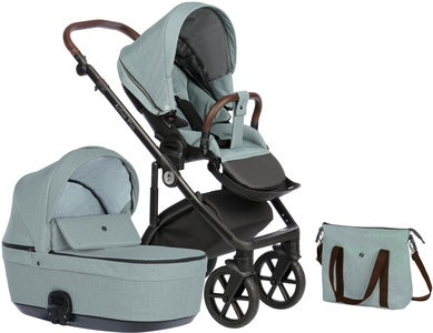 Nordbaby Nord Active Plus Duovagn, Arctic Slate
