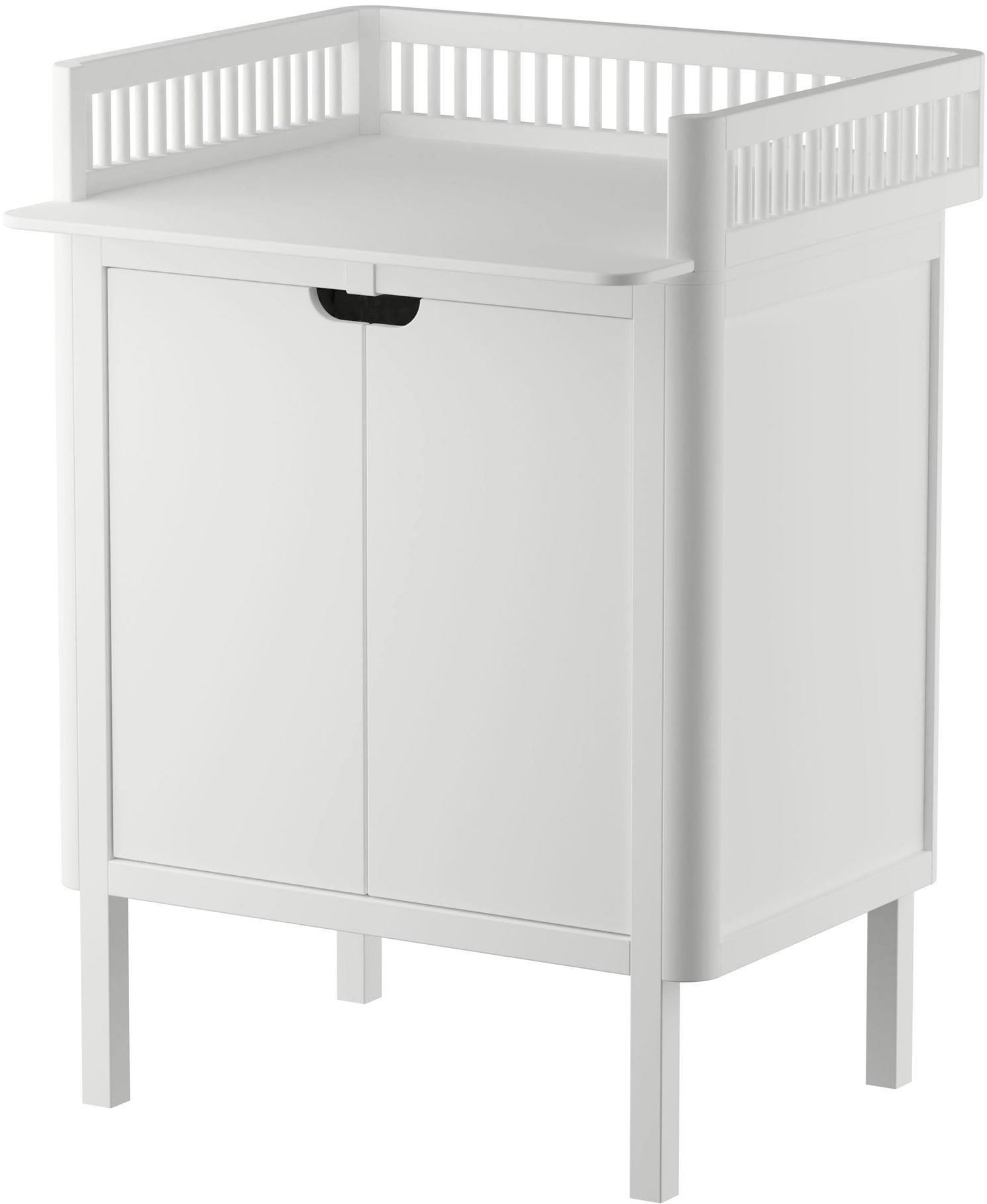 Sebra Skötbord med Dörrar, Classic White