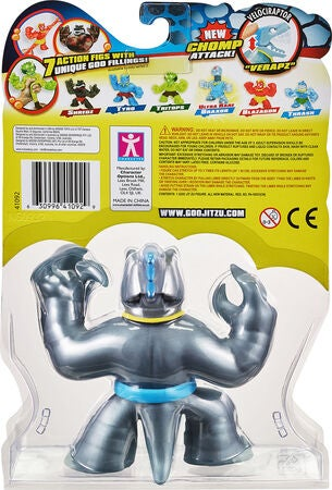 Goo Jit Zu Squishy Fighters Veraptz