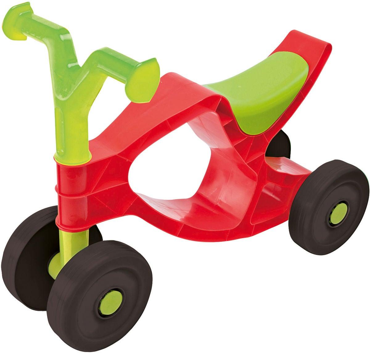 BIG Springcykel Flippi, Röd/Grön