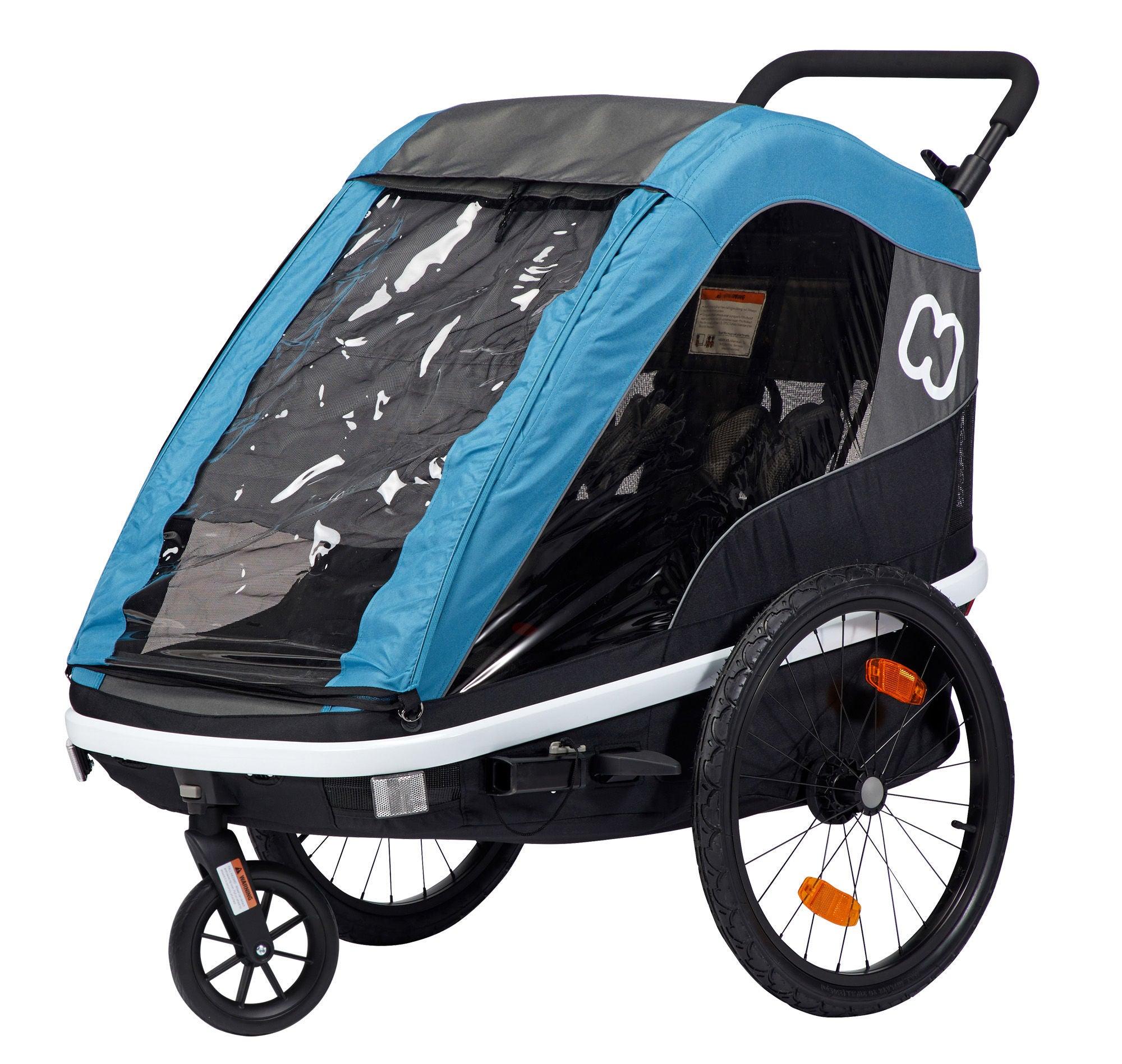 Hamax AVENIDA Cykelvagn, Petrol Blue