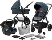Kinderkraft XMOOV 3-in-1 Travelsystem, Denim