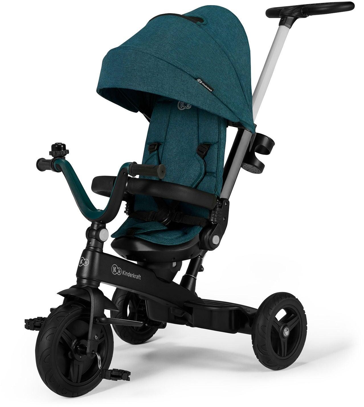 Kinderkraft Twipper Trehjuling, Grön