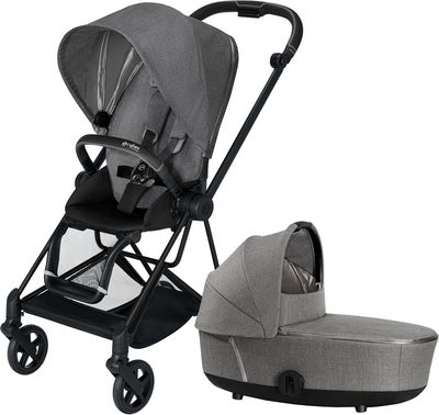 Cybex Mios Duovagn, Manhattan Grey Plus/Matt Black
