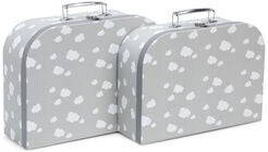 Cloudberry Castle Pappväska 2-pack, Soft Grey