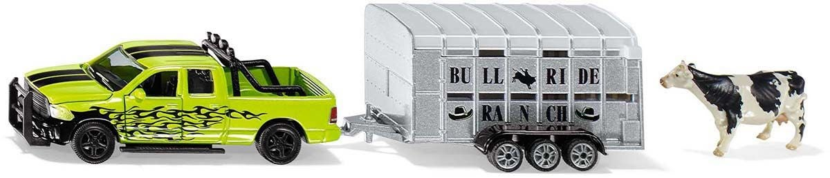 SIKU Dodge Ram 1500 M Djurtransport 1:50