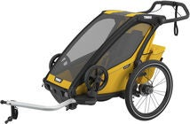 Thule Chariot Sport 1 Cykelvagn, Yellow