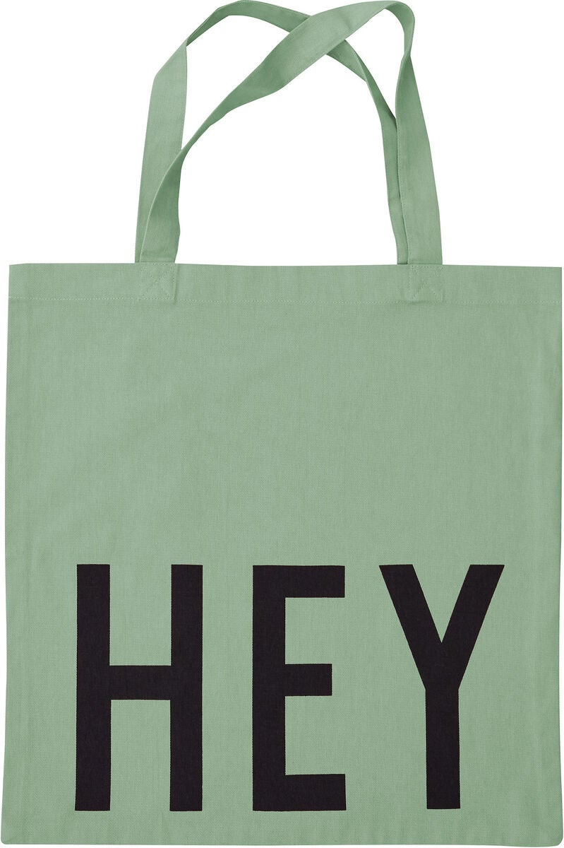 Design Letters Favourite Tygpåse Hey, Light Green