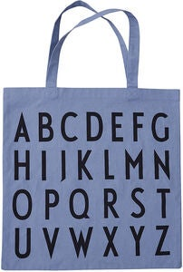 Design Letters Favourite Tygpåse ABC, Blue