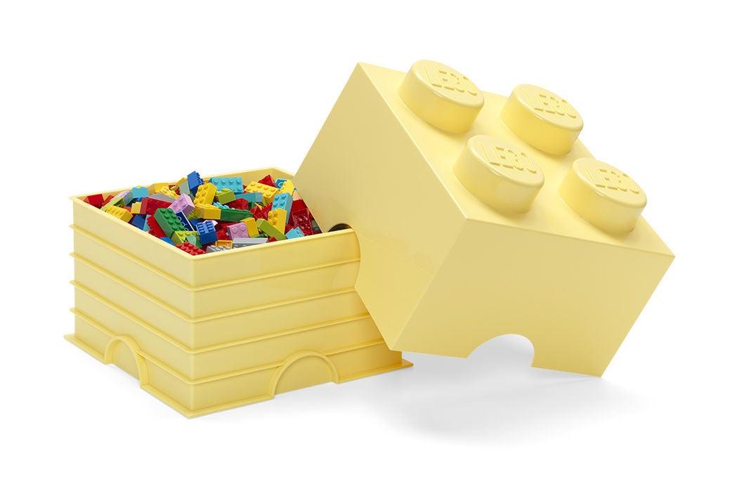 LEGO Förvaring 4 Design Collection Cool Yellow