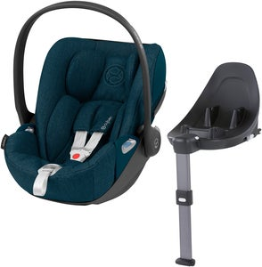 Cybex Cloud Z i-Size Plus Babyskydd Inkl. Z Bas, Mountain Blue