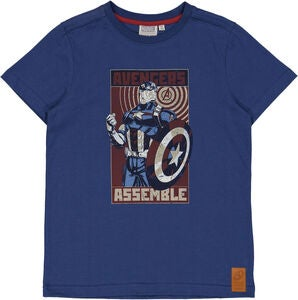 Wheat Avengers T-Shirt, Cool Blue