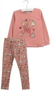 Wheat Disney X-Mas Pyjamas, Soft Rouge