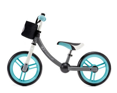 Kinderkraft Springcykel 2-way, Turkos