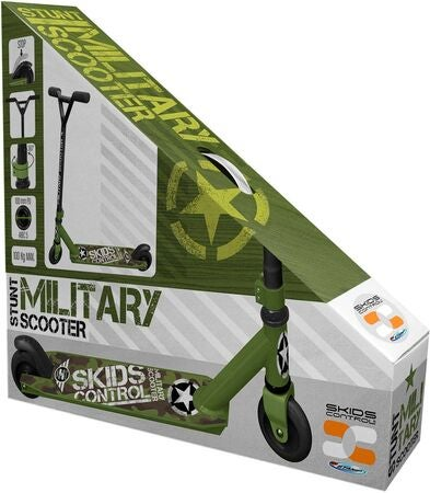 Stamp Sparkcykel Skids Control Military