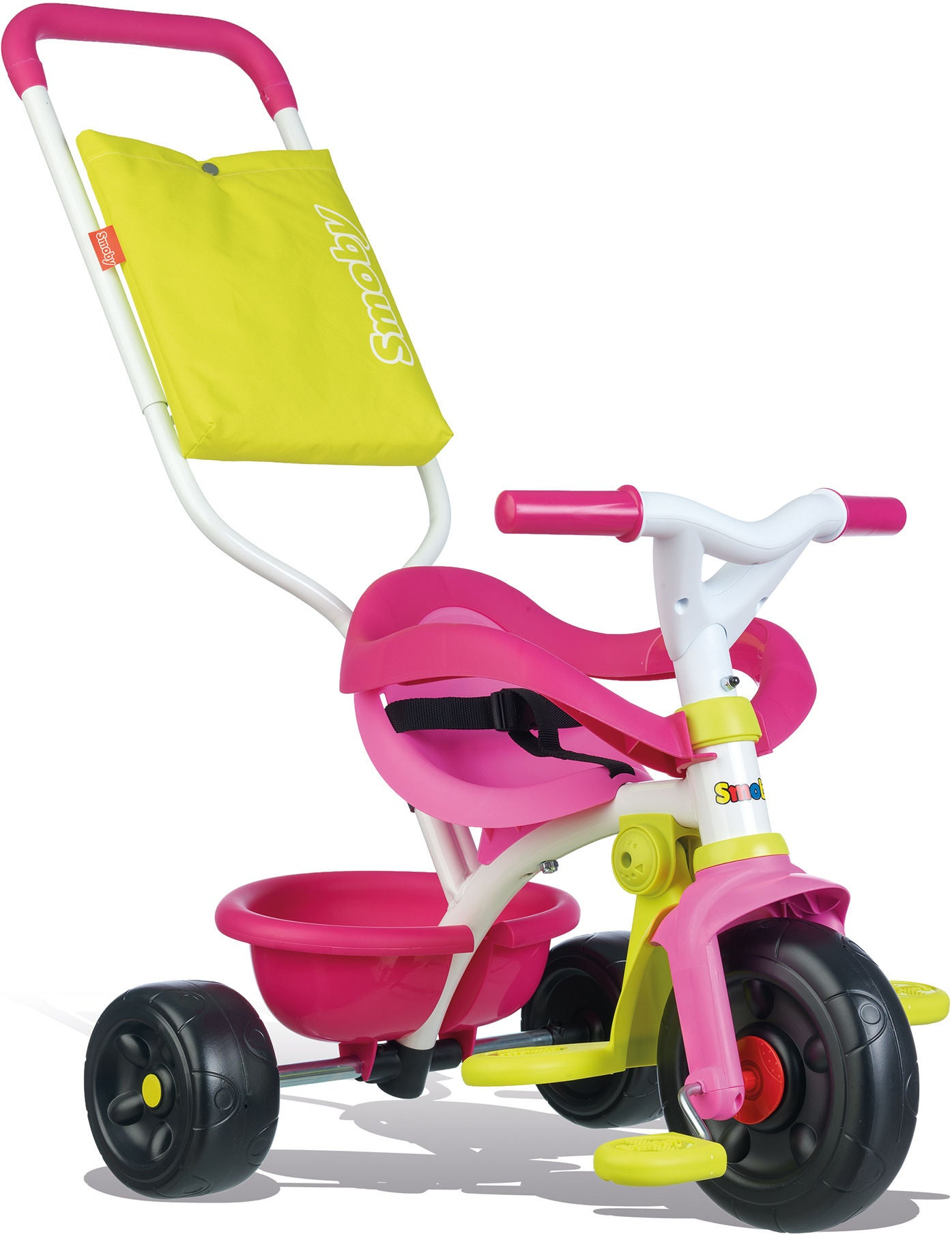 Smoby Be Fun Comfort Trehjuling, Rosa