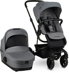 Easywalker Harvey 3 Duovagn, Fossil Grey