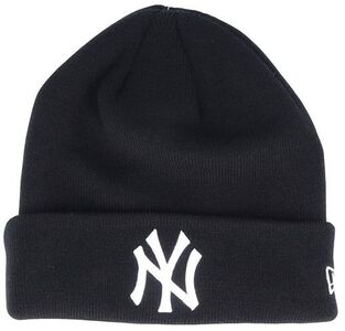 New Era MLB Cuff Knit Mössa, Black/White
