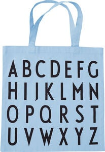 Design Letters Favourite Tygpåse ABC, Light Blue