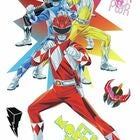 RoomMates Wallstickers Power Rangers