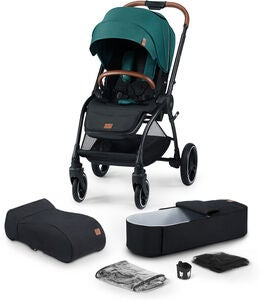 Kinderkraft Evolution Cocoon Duovagn, Midnight Green