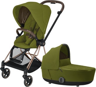 Cybex Mios Duovagn, Khaki Green/Rose Gold