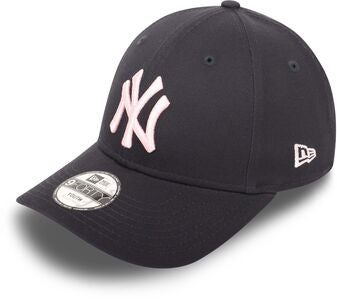 New Era NYY League Essential 940 Keps, Navy Pink