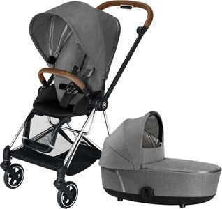 Cybex Mios Duovagn, Manhattan Grey Plus/Chrome Brown