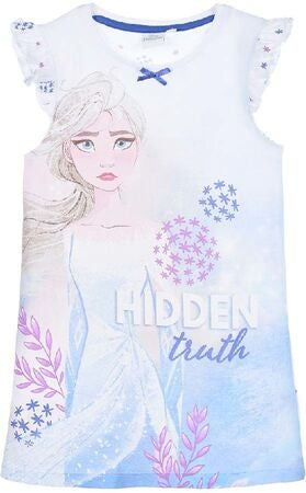 Disney Frozen Nattlinne, White