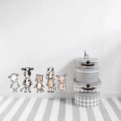 Stickstay Wallsticker Farmhouse Friends