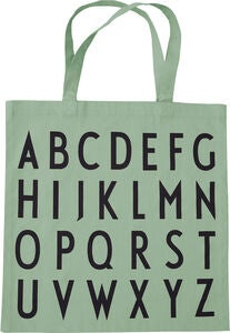Design Letters Favourite Tygpåse ABC, Light Green