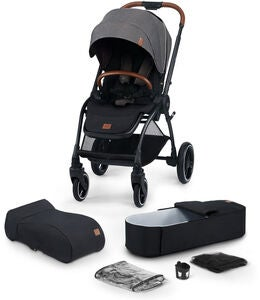 Kinderkraft Evolution Cocoon Duovagn, Platinum Grey