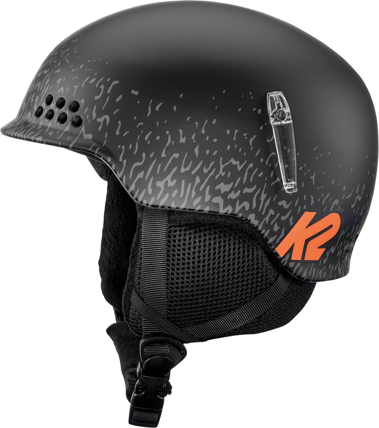 K2 Skidhjälm Illusion, Svart, 51-55 cm