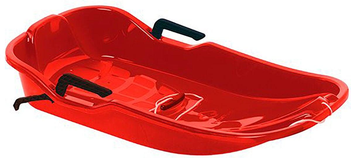 Hamax Pulka Snow Glider, Röd
