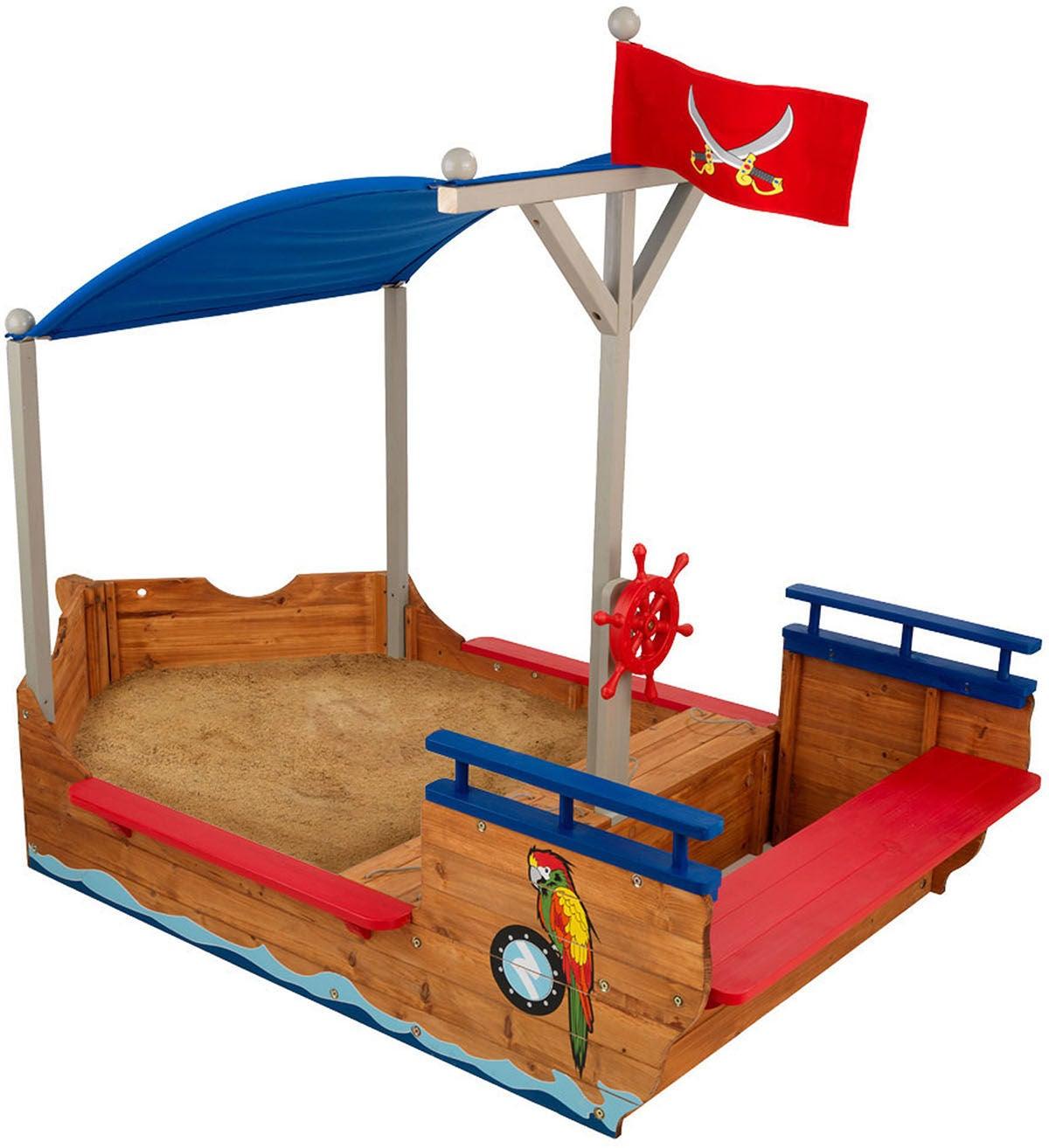 KidKraft Sandlåda Piratskepp