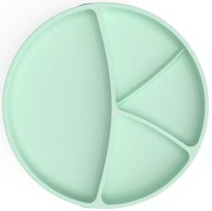 Everyday Baby Tallrik Silikon med Sugfunktion, Mint Green