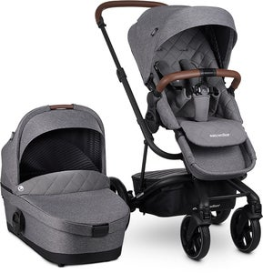 Easywalker Harvey 3 Premium Duovagn, Diamond Grey