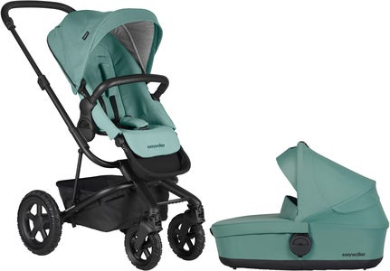 EasyWalker Harvey² All-Terrain Duovagn, Coral Green