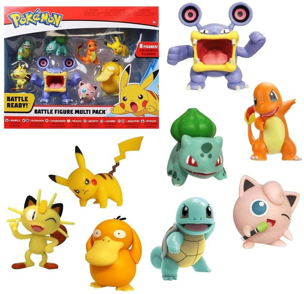 Pokémon Battle Figurer 8-pack