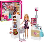 Barbie Supermarket Med Docka