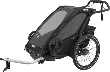 Thule Chariot Sport 1 Cykelvagn, Midnight Black