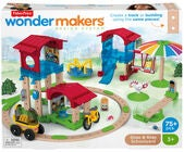 Fisher-Price Wonder Makers Design System Slide & Ride Schoolyard