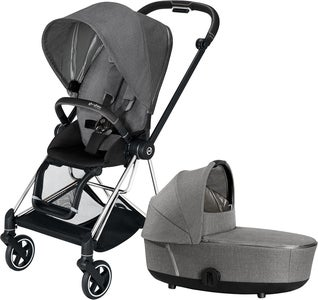 Cybex Mios Duovagn, Manhattan Grey Plus/Chrome Black