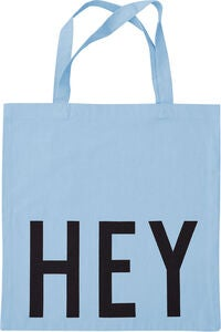 Design Letters Favourite Tygpåse Hey, Light Blue