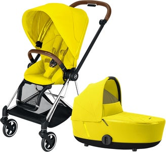 Cybex Mios Duovagn, Mustard Yellow/Chrome Brown
