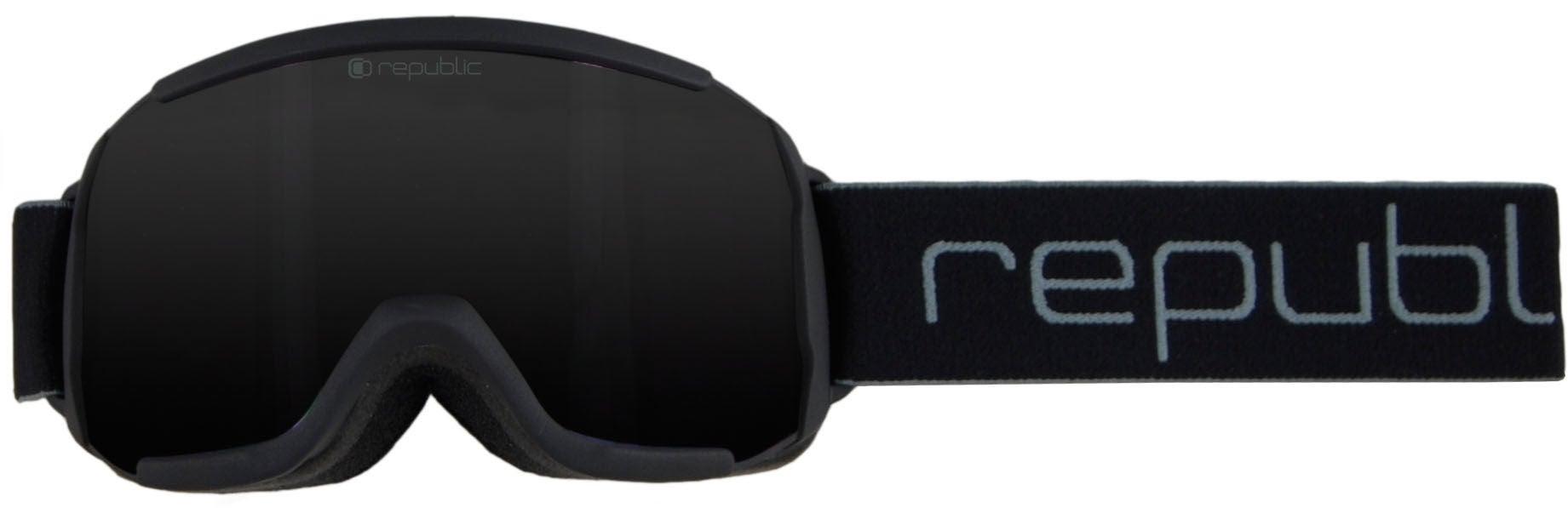 Republic R710 Skidglasögon Dam, Black
