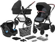 Kinderkraft XMOOV 3-in-1 Travelsystem, Black