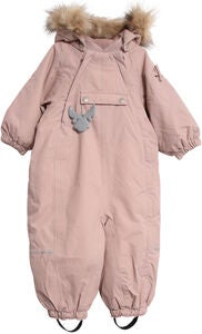 Wheat Nickie Overall, Rose Powder