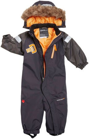 Didriksons Overall Tucky Coverall Coal Black