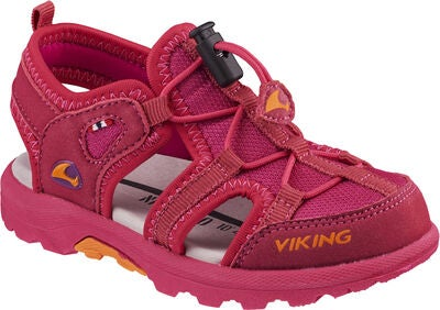 Viking Sandvika Sandal, Fuchsia/Orange